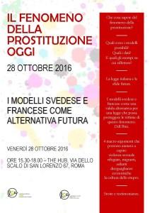 28 ottobre 2016 Programma